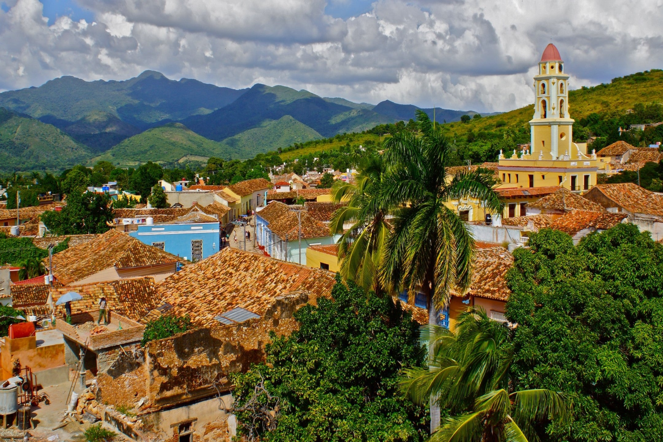 The town of Trinidad in the south of Cuba.
