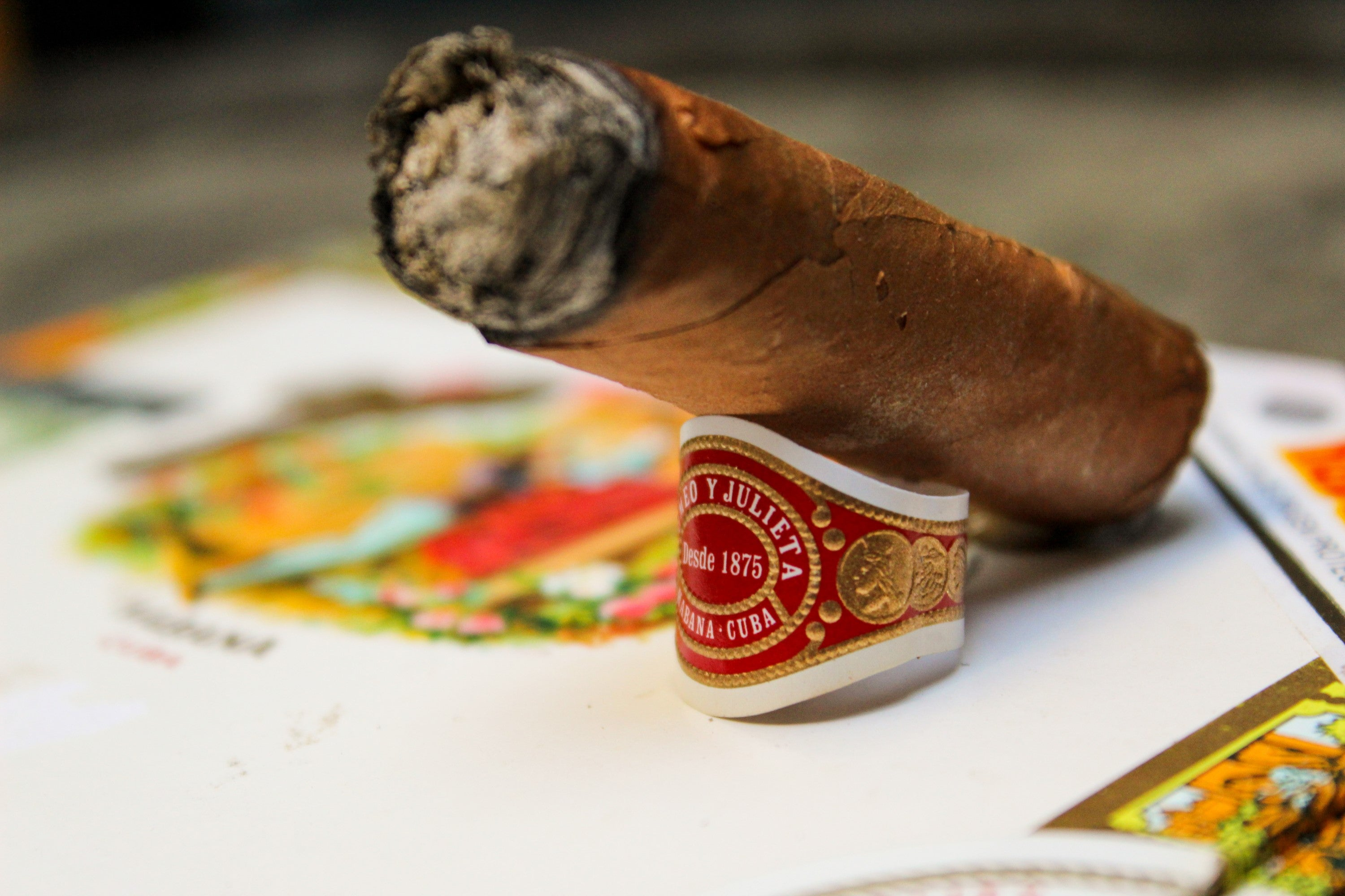 The end of the Romeo y Julieta Mille Fleurs