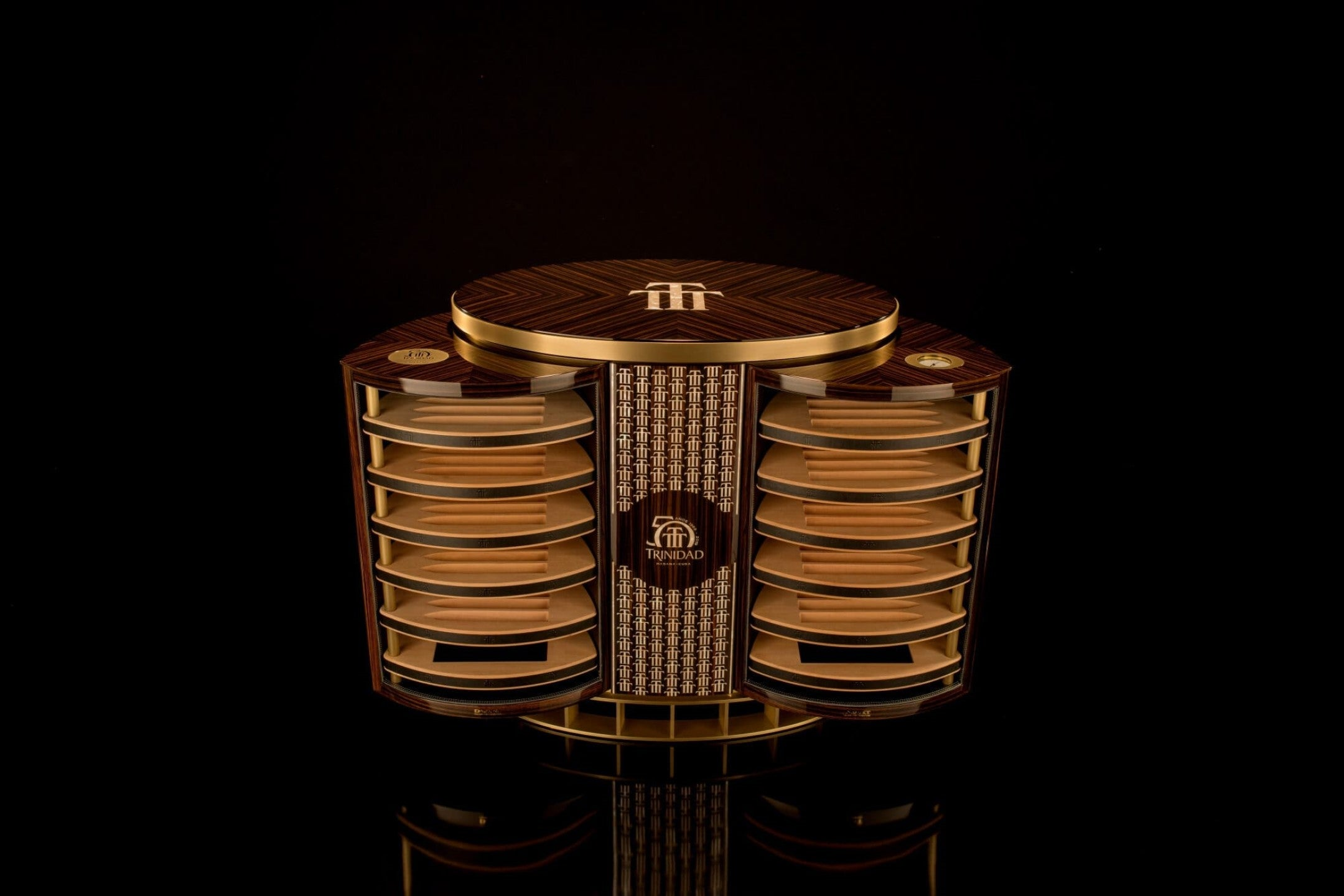The Trinidad 50th Anniversary Humidor commissioned by Habanos S.A. and created by DeART.