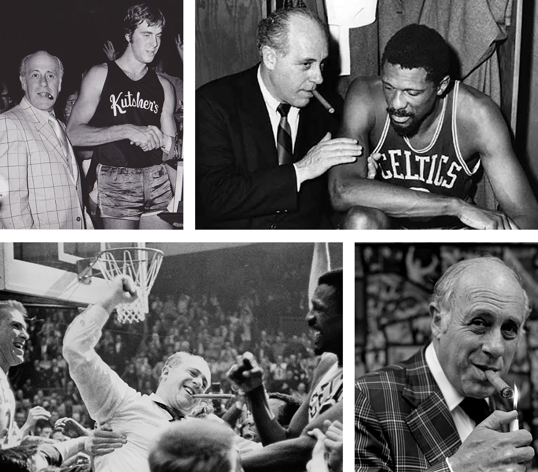 arnold red auerbach basketball coach and cigar enthusiast EGM Cigars