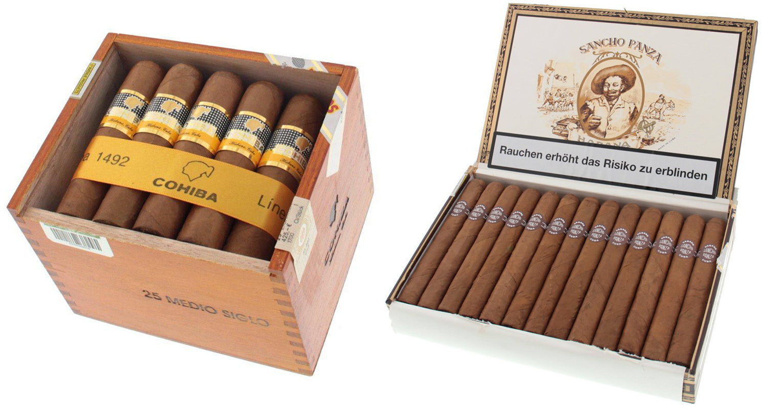 cohiba medio siglo cigar and sancho panza non plus cigars egm cigars
