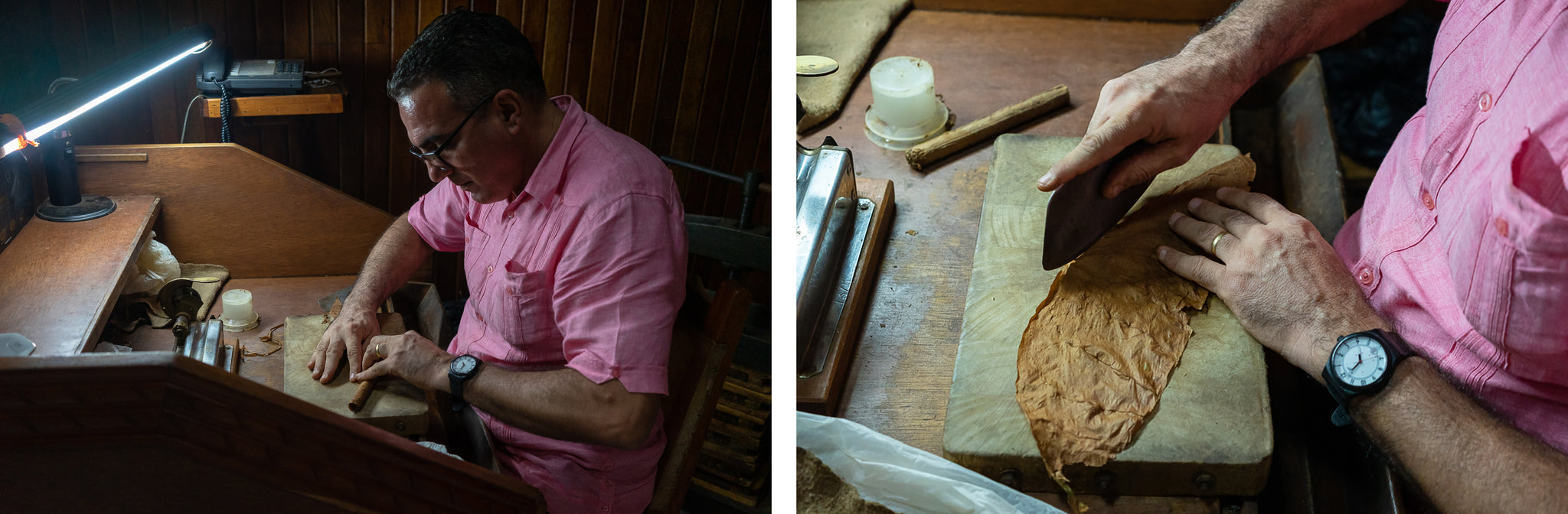 crafting hand made cuban cigars for sale