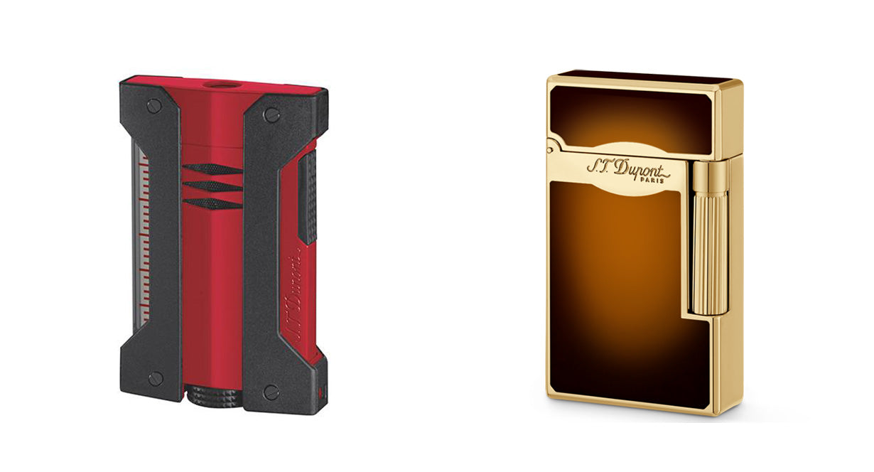 defi extreme s.t. dupont cigar lighter and le grand s.t. dupont cigar lighter egm cigars