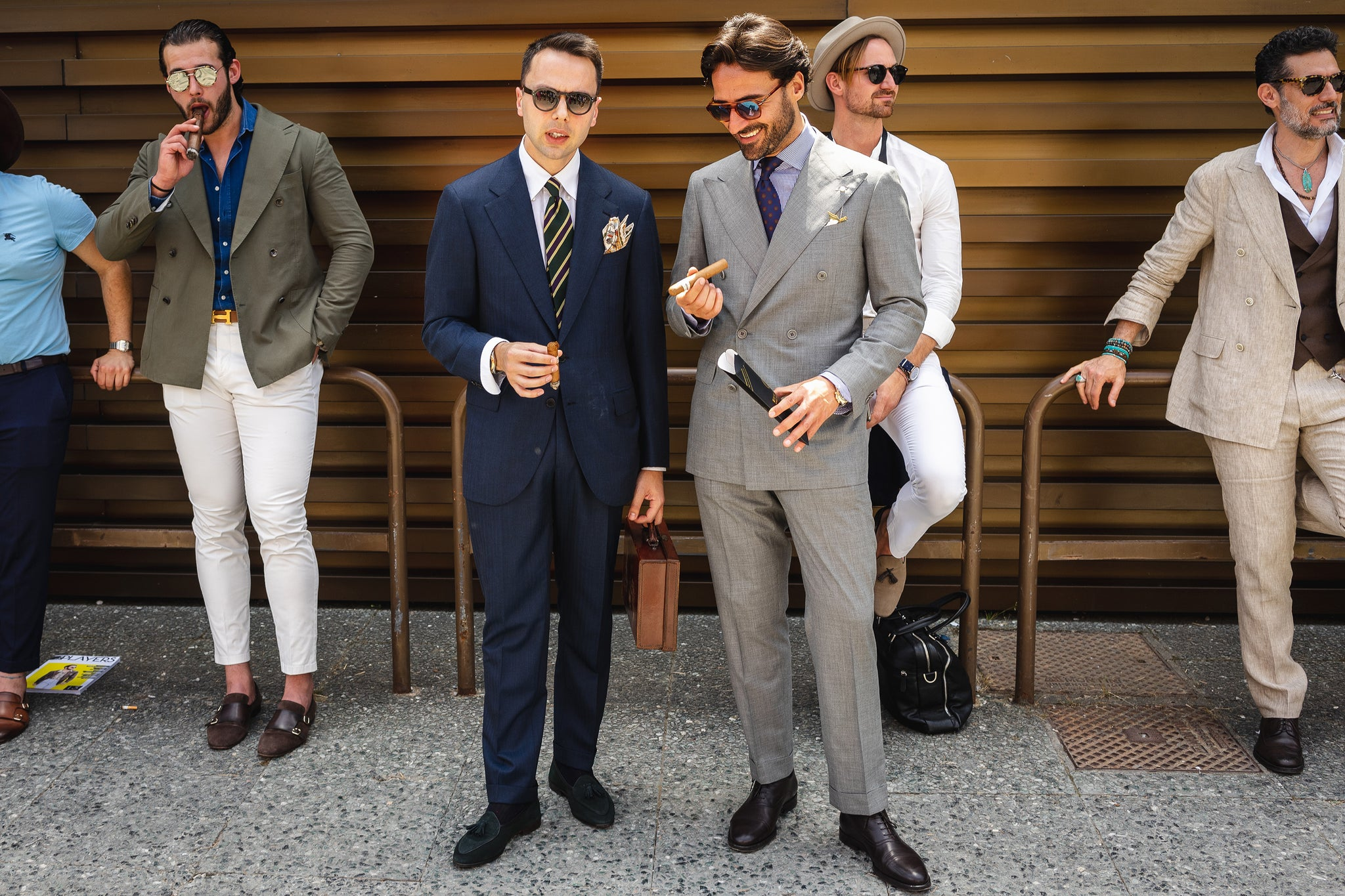 Pitti Uomo: Best Street Style und Cuban Cigars Moments egm Zigarren