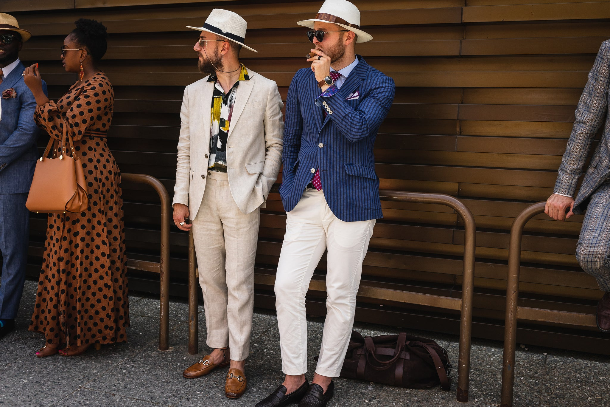 Pitti Uomo: Best Street Style and Cuban Cigars Moments egm cigars