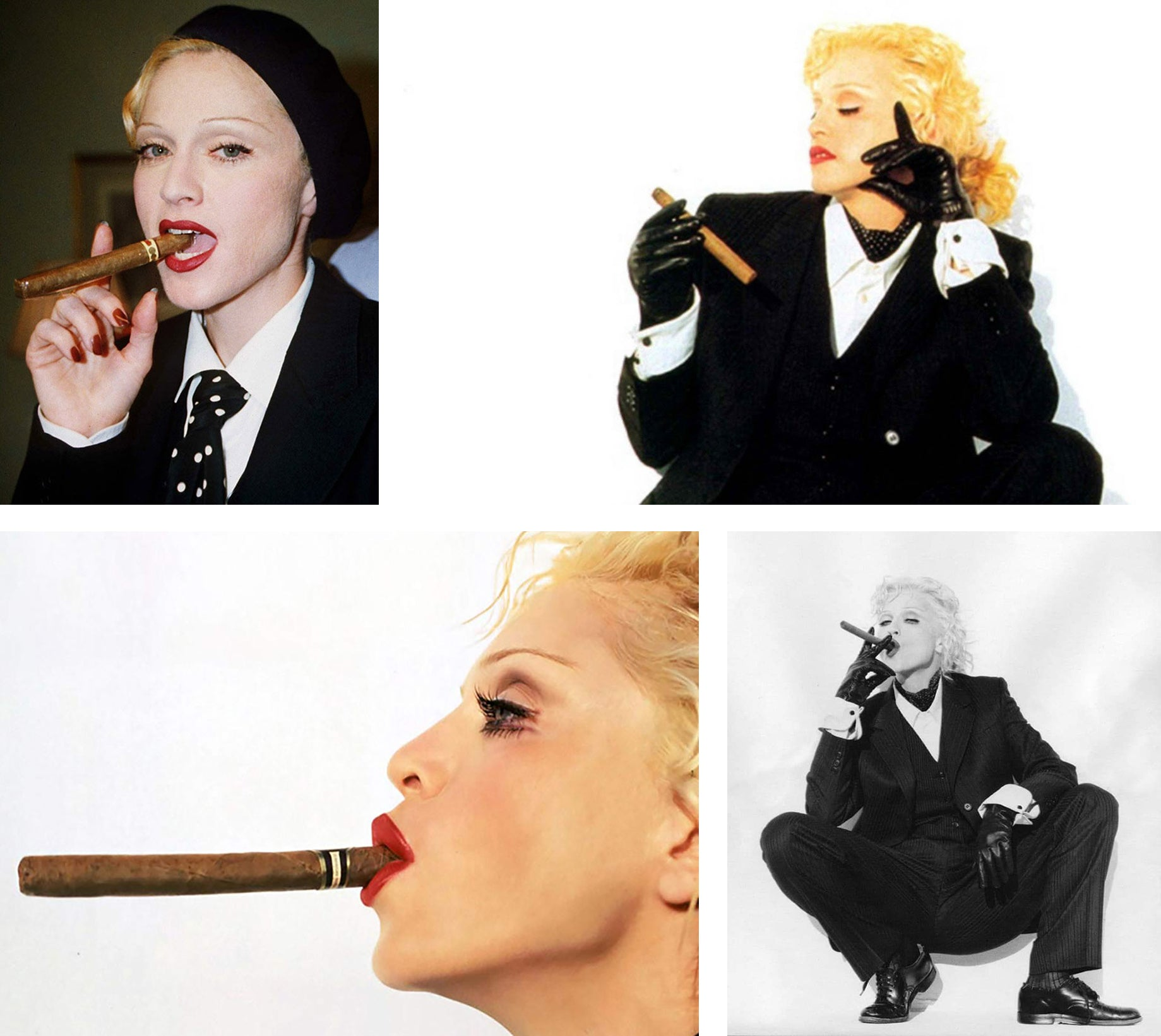 female cigars smokers Madonna EGM Cigars