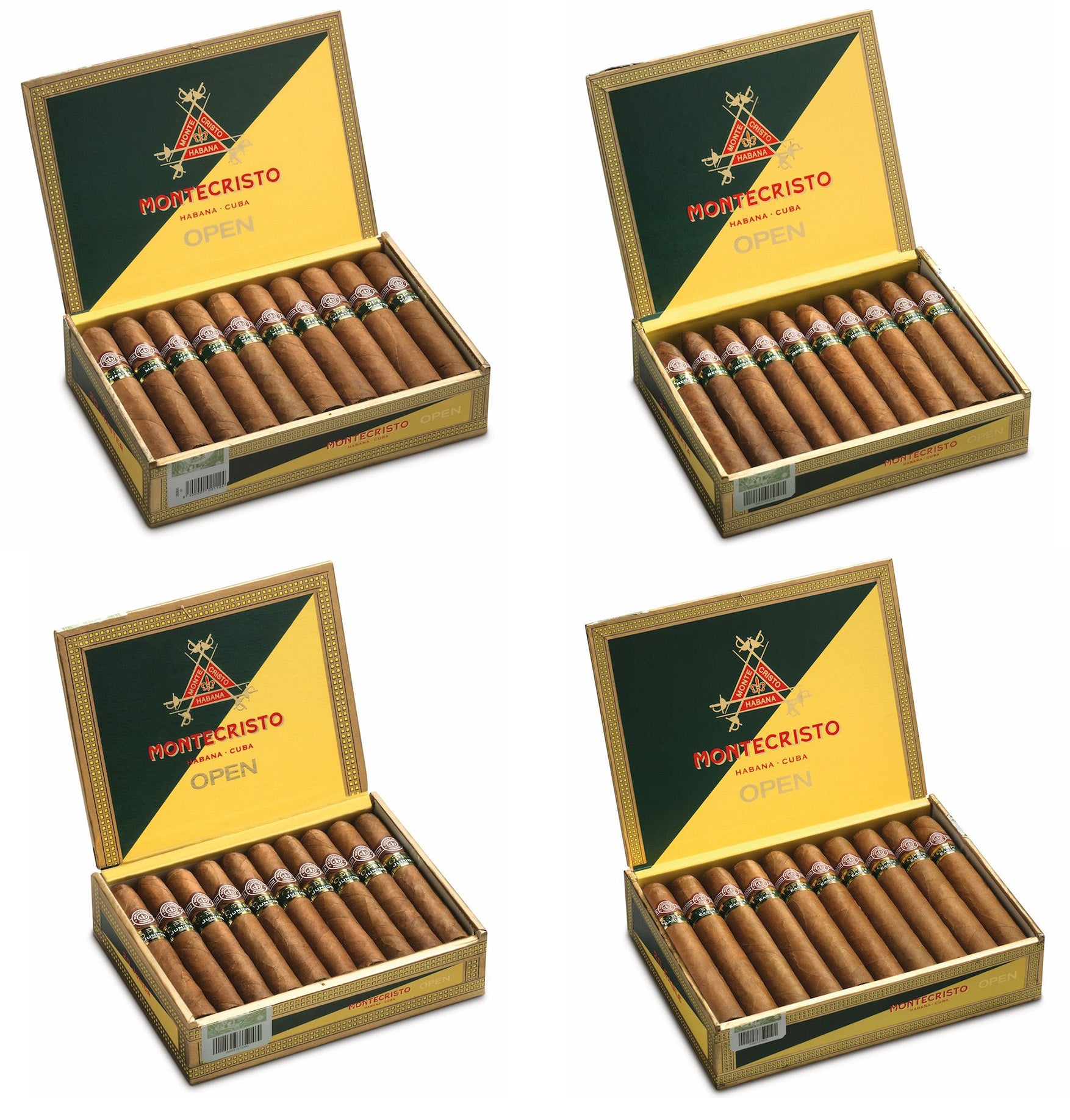 montecristo open master cigar montecristo open regata cigar montecristo open junior cigar montecristo open eagle cigar egm cigars
