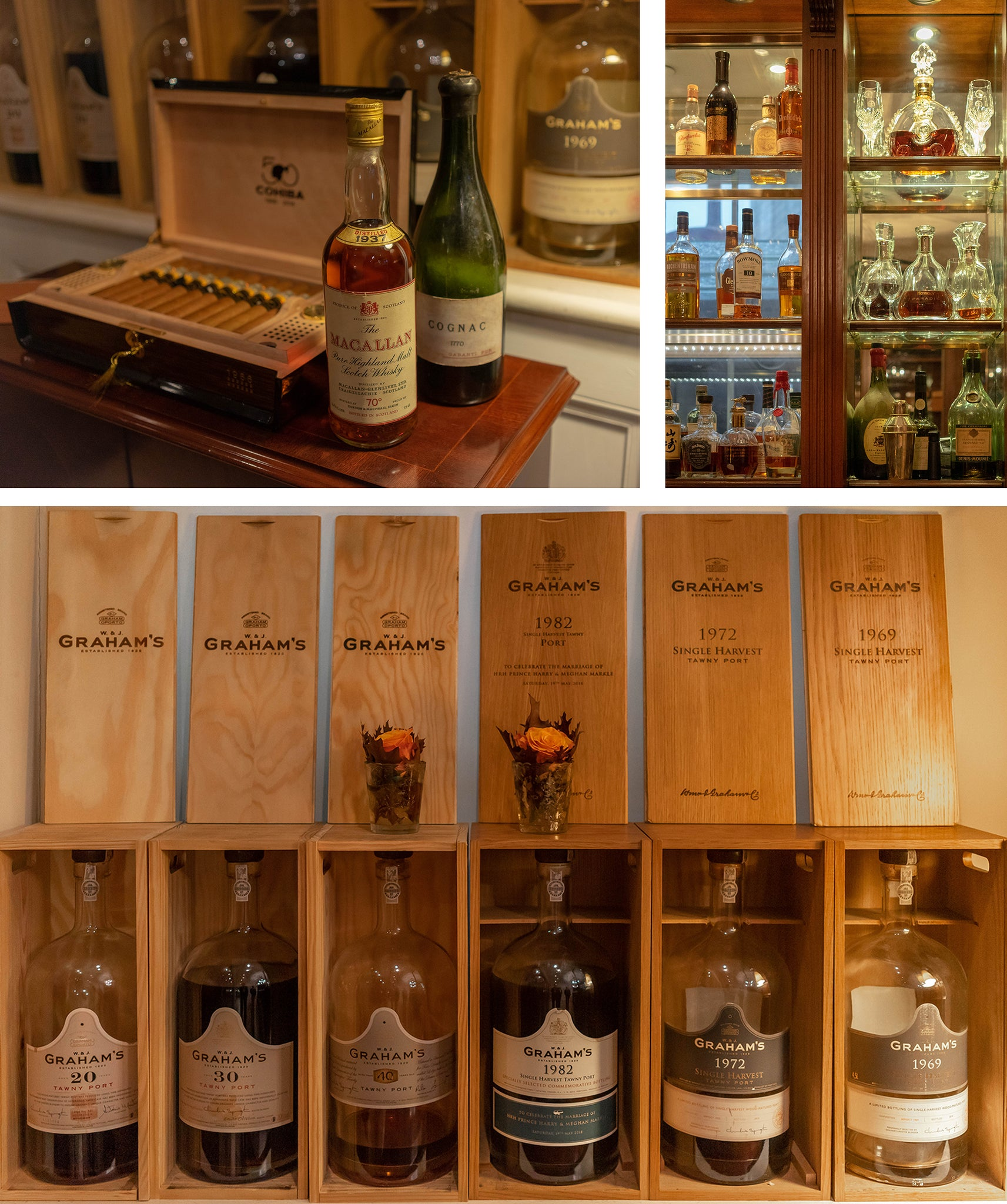 pairing cigars with spirits, whiskeys, and towny ports at the lanesborough london EGM Cigars