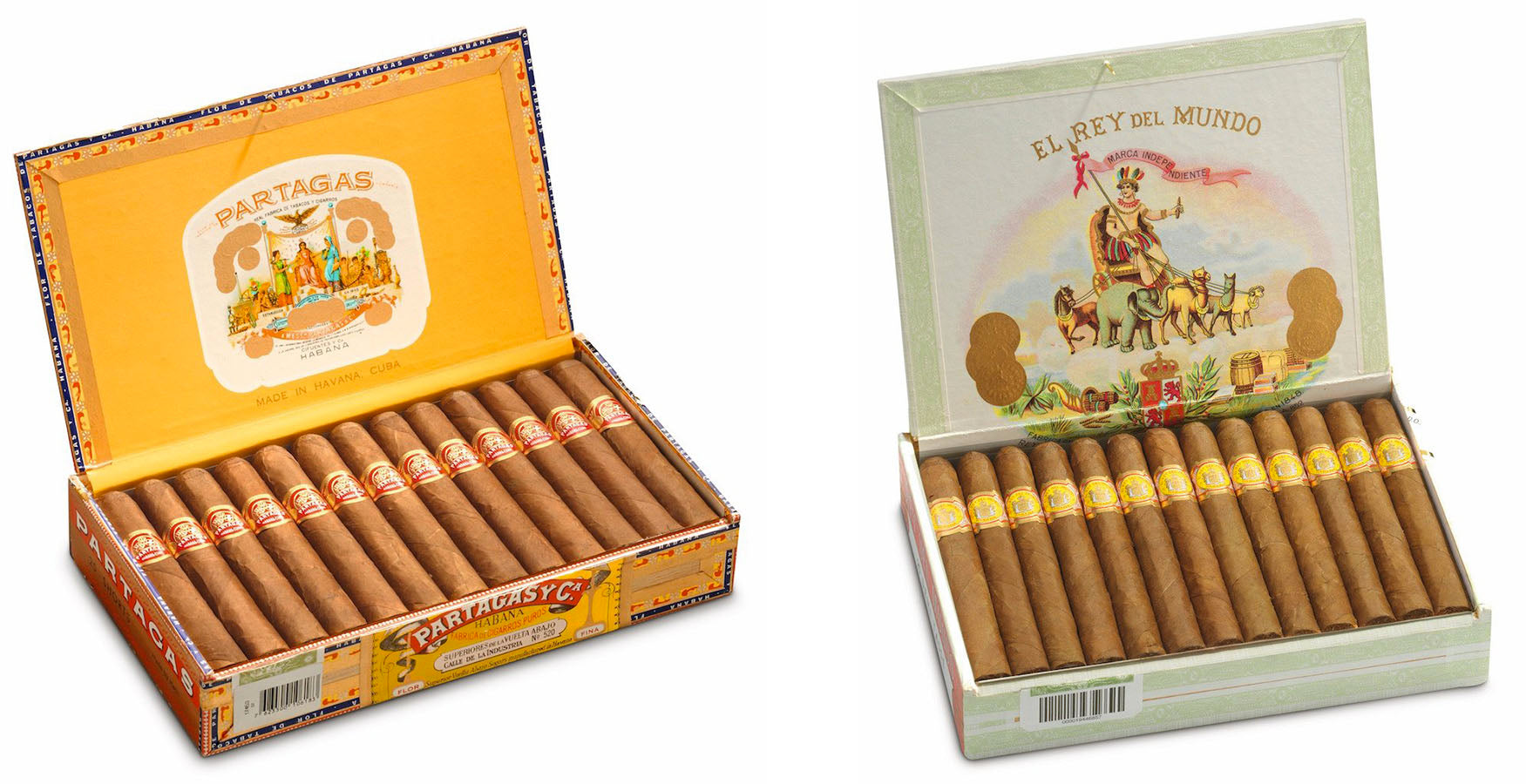 partagas shorts cigars and el rey del mundo demi tasse cuban cigars online egm cigars
