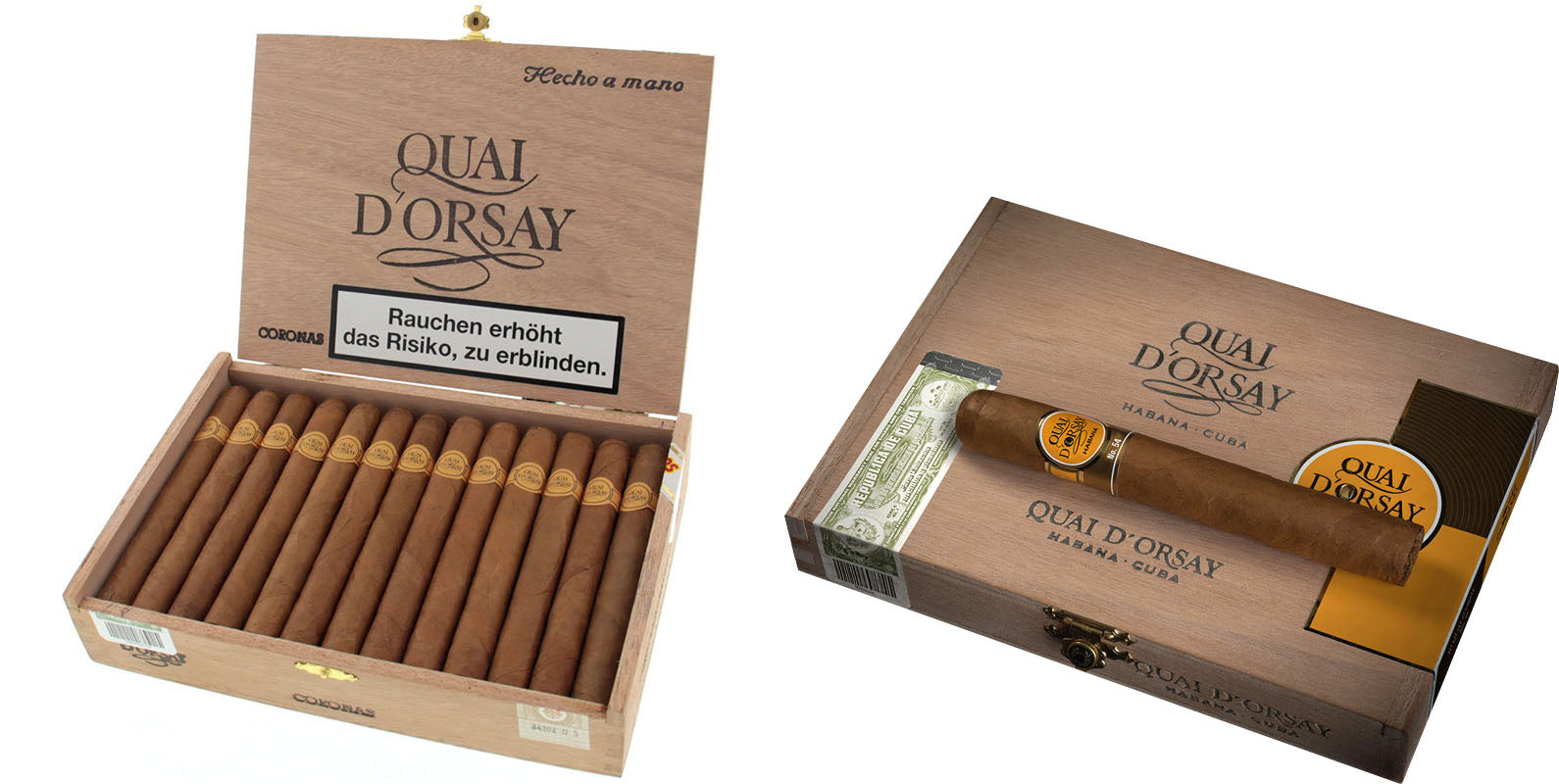 quai d orsay coronas claro cigars no. 54 cigar and quai d orsay EGM Cigars
