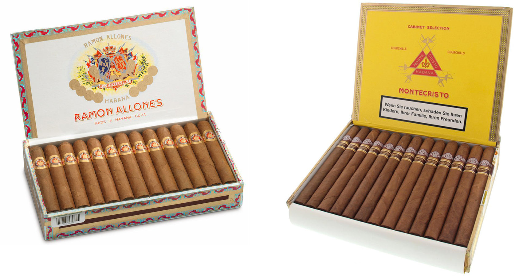 ramon allones small club coronas cuban cigars and montecristo churchills anejados cigar EGM Cigars