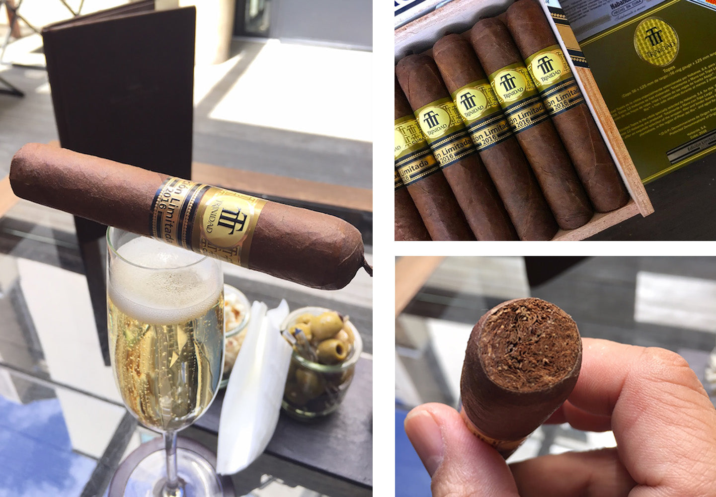 trinidad topes edicion limitada 2016 cuban cigars and champagn egm cigars