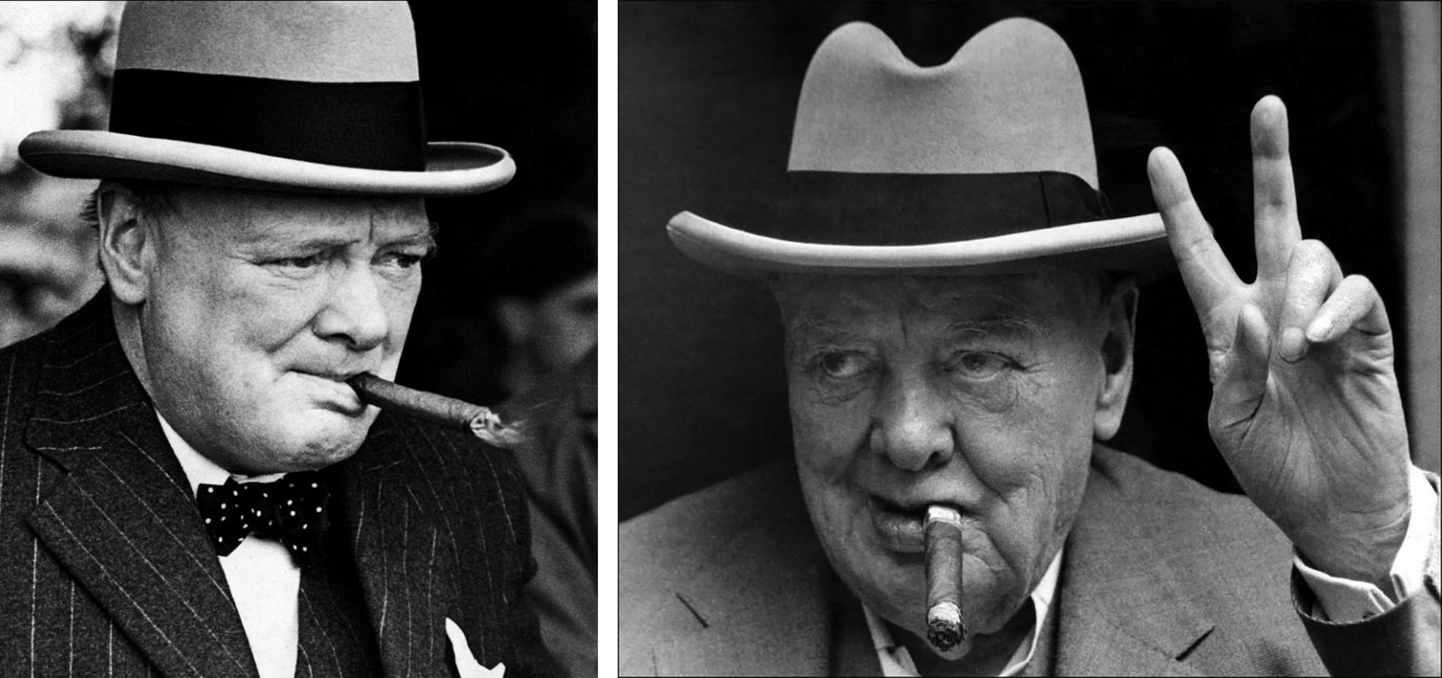 winston churchill smoking cuban cigars EGM Cigars