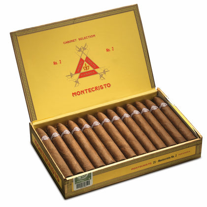 Montecristo No. 2 Cigar (Box of 25) for sale
