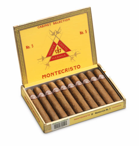 Montecristo No. 5 Cigar( Box of 10) for sale