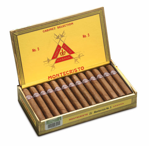Montecristo No. 5 Cigar (Box of 25) for sale
