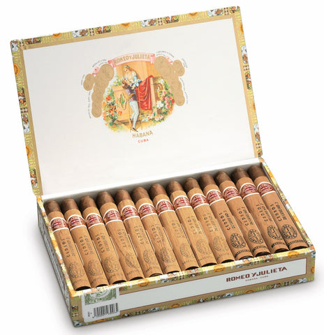 Romeo y Julieta Cedros de Luxe No. 2 Cigar (Box of 25 Cigars) For Sale