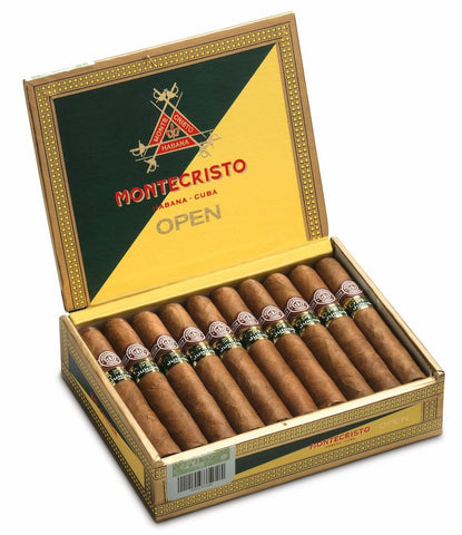 Vintage Montecristo Open Junior Zigarre (LOT DIC '10)
