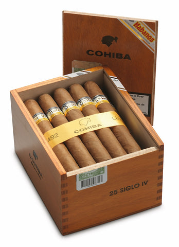 Cohiba Siglo IV Cigar (Box of 25 Cigars) for sale online