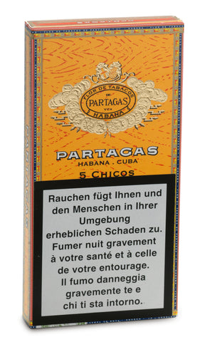 Photo of the Partagas Chicos Cigar (pack of 5) Buy Online