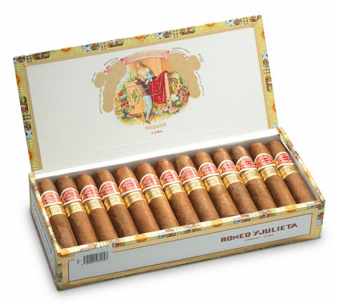 Romeo y Julieta Petit Churchills Cigar (Box of 25 Cigars) For Sale