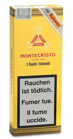 Montecristo Double Edmundo Cigar (pack of 3) Fo Sale