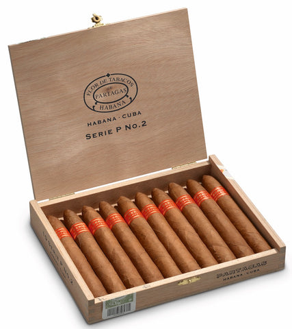 Partagas Serie P No. 2 Cigar (Box of 10) for sale