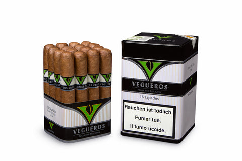 Vegueros Tapados Cigar (Box of 16) For Sale