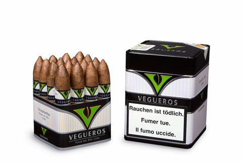 Vegueros Mananitas Cigar (Box of 16 Cigars) For Sale