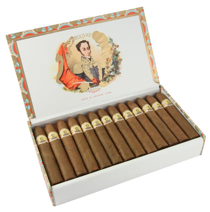 Image of the Bolivar Belicosos Finos Cigar (Box of 25 cigars) for sale