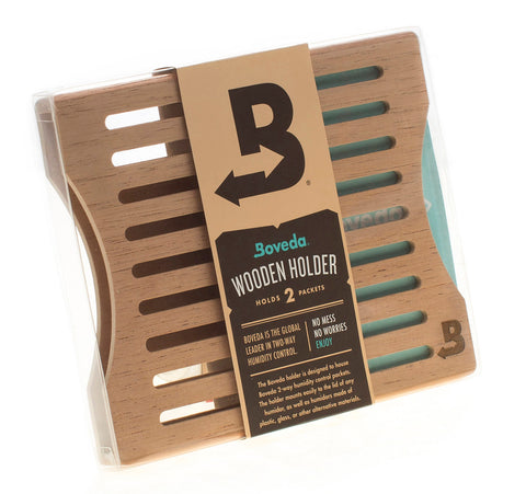 Boveda 60g Wooden Packet Holders