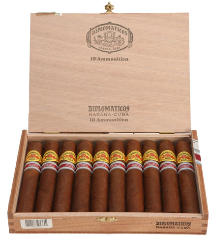 Diplomaticos Ammunition Cigar (Box of 10). EGM Cigars