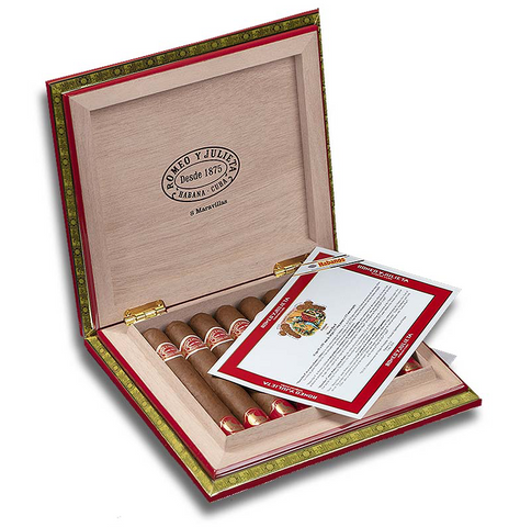 Romeo Y Julieta Maravillas 8 - Box of 8 - EGM Cigars