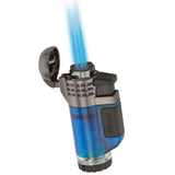 Xikar Tech Triple Jet Lighter Flame