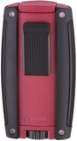 Xikar Turismo Double Jet Lighter Matte Red