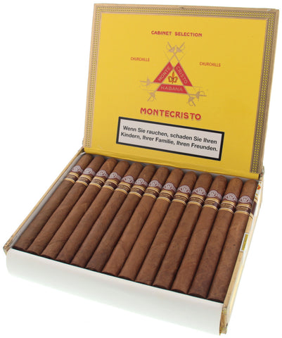Montecristo Churchills Añejados Cigar (Box of 25 Cigars) for sale