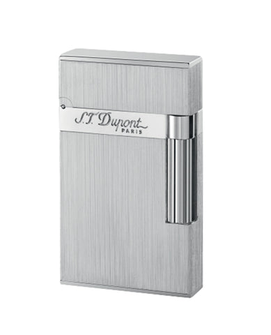 Ligne 2 S.T. Dupont Lighter – Brushed Palladium Finish
