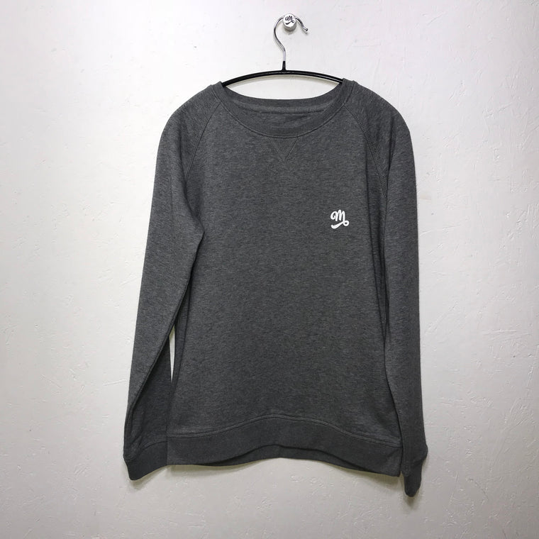 ECO Organic Grey Marl Sweat