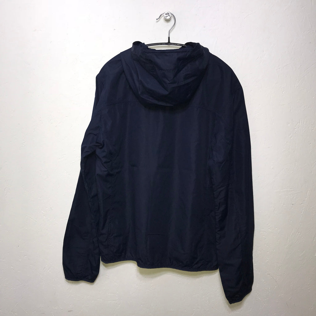 ECO Organic Navy Hooded Lightweight Wind Cheater