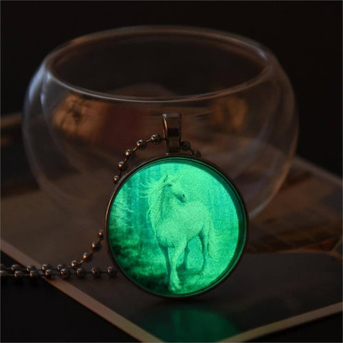 Enchanted Glow Unicorn Necklace
