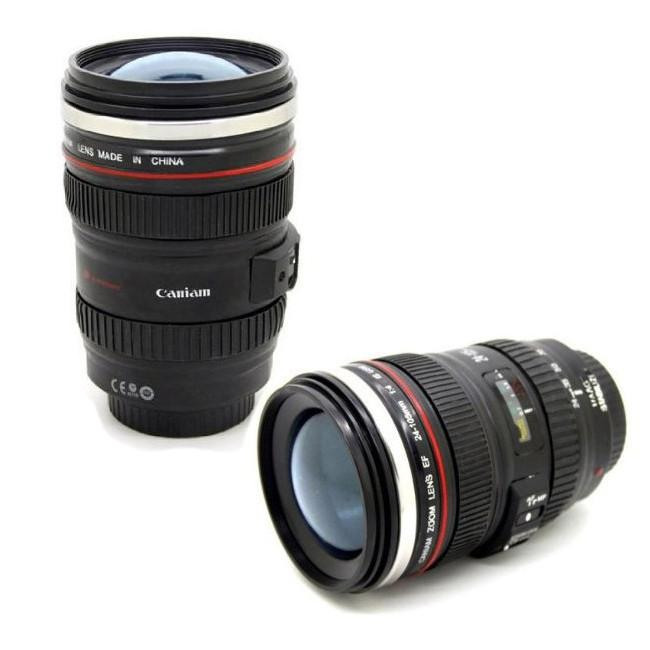 Creative Camera Lens Travel Mug