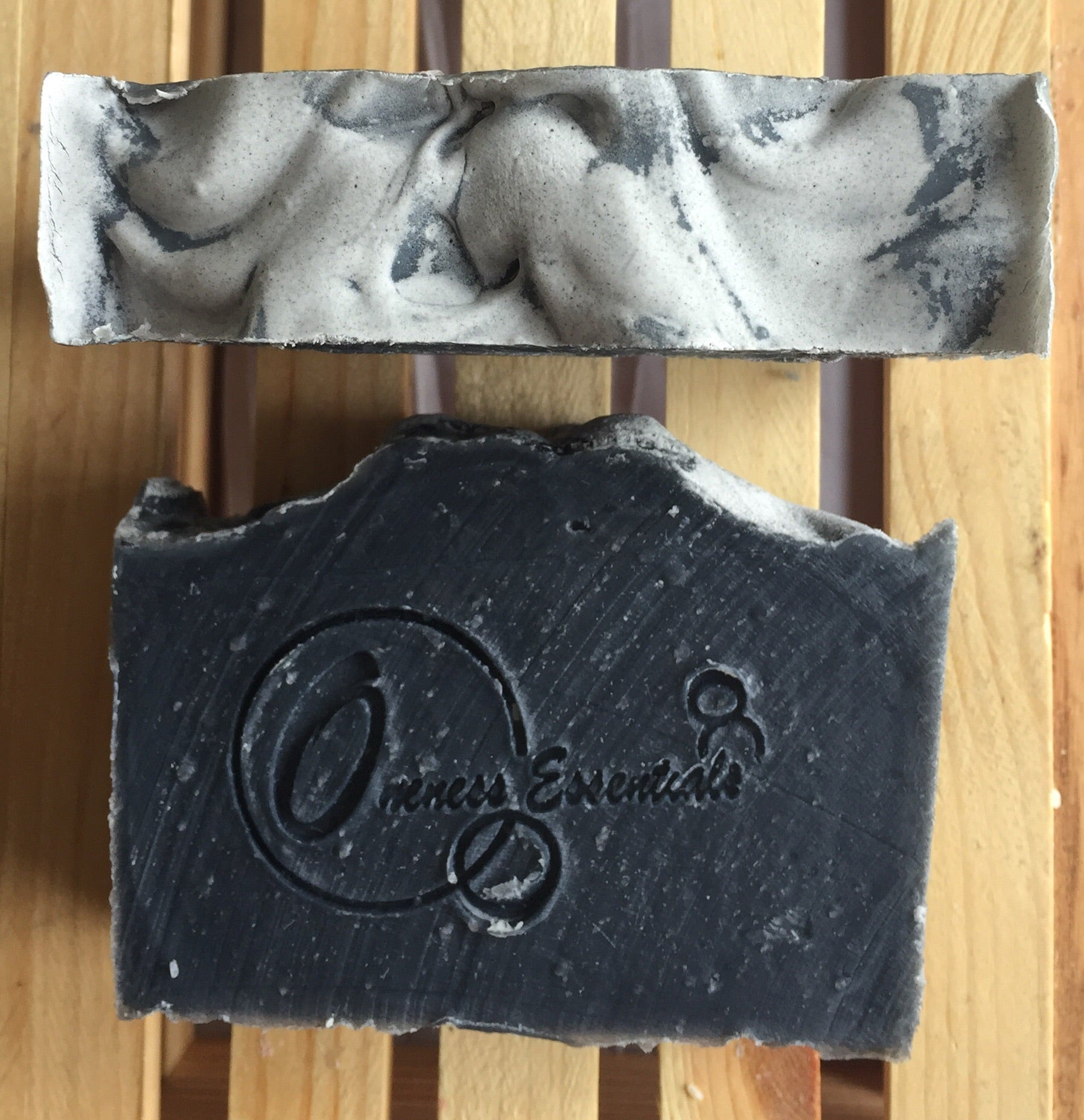 Spearmint with Activated Charcoal Soap