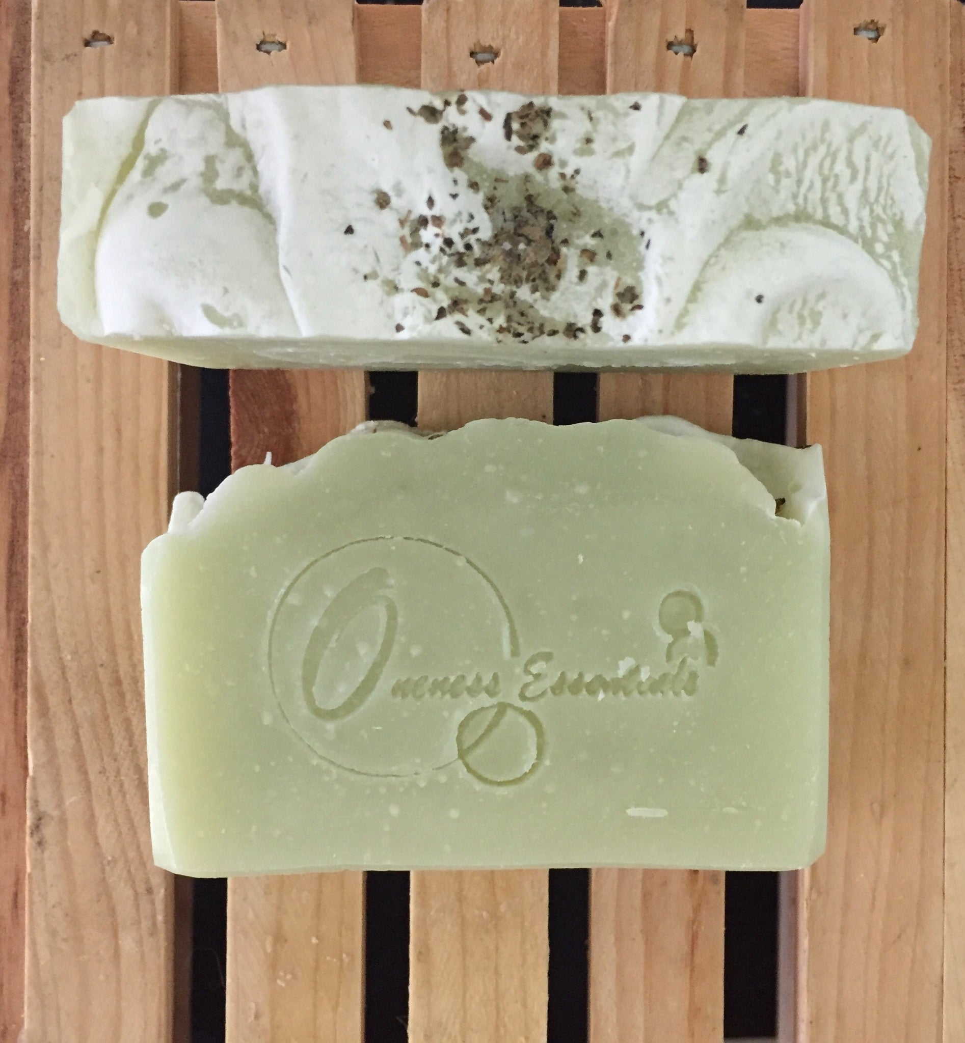 Ginger Lime Scented Soap