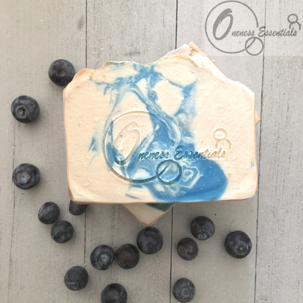 Blueberry Muffin Handmade Soap