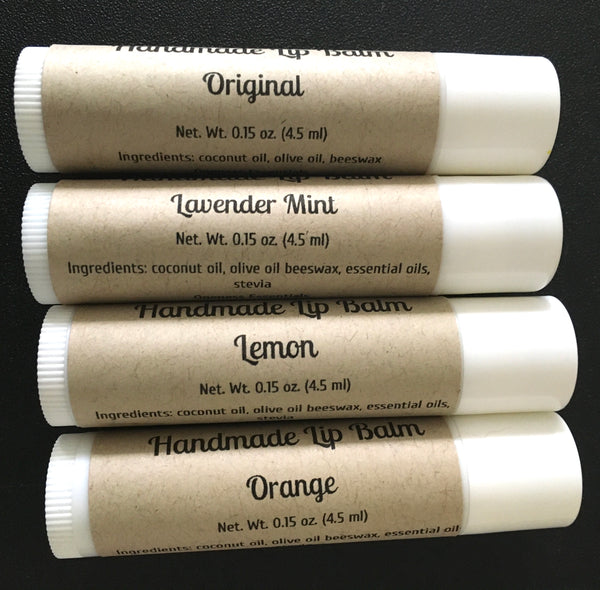 Lip Balm Set of 4
