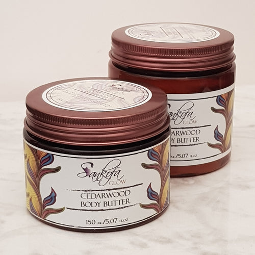Cedar wood Body Butter