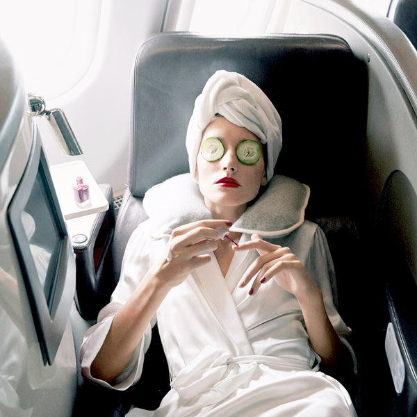 Out of office: In-Flight Skincare Tips