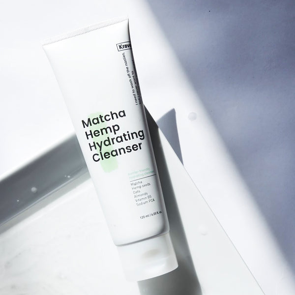 Liah Yoo uses Matcha Hemp Hydrating Cleanser