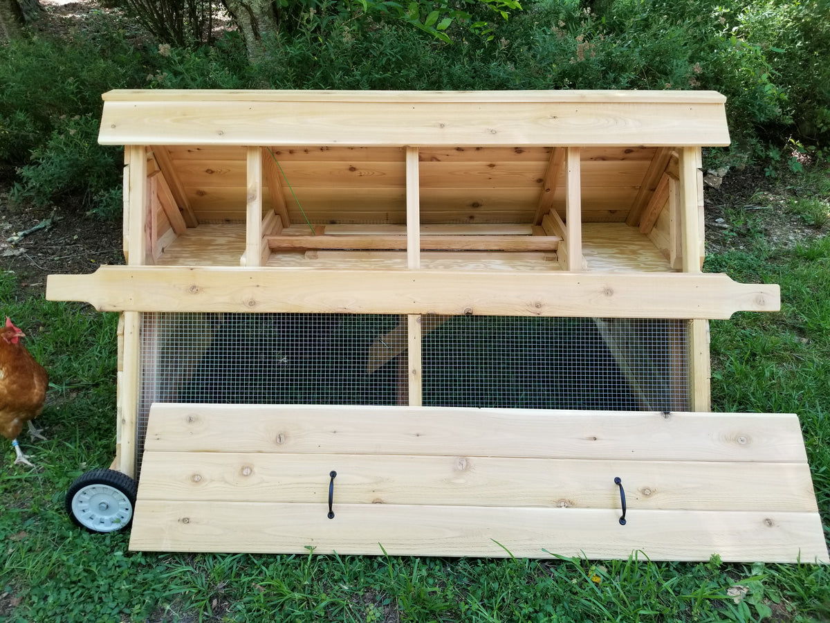 6 ft CityChick Cedar Chicken Tractor - BASE MODEL