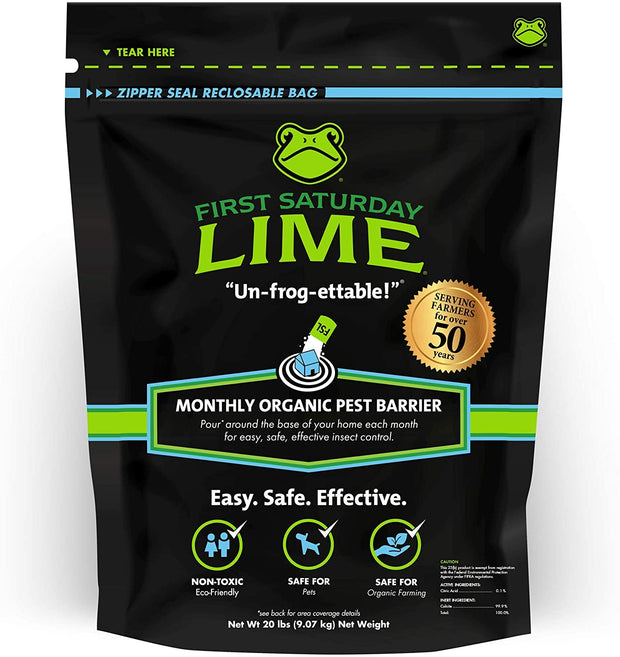 First Saturday Lime - 20 lb bag